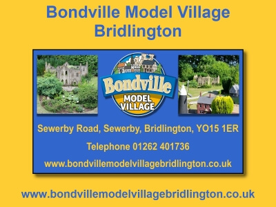 Bonville Model Village Website built by Love Bridlington