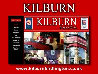 Kilburn Guest House Bridlington Website built by Love Bridlington