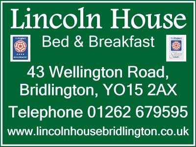 Lincoln House Bed and Breakfast Bridlington Website built by Love Bridlington