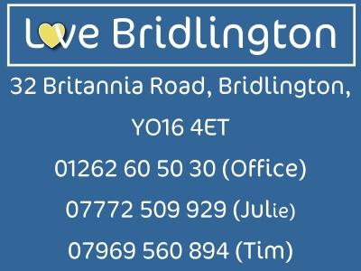 Love Bridlington contact information