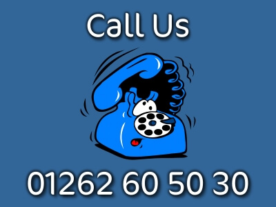 Love Bridlington Telephone dial button for mobile devices