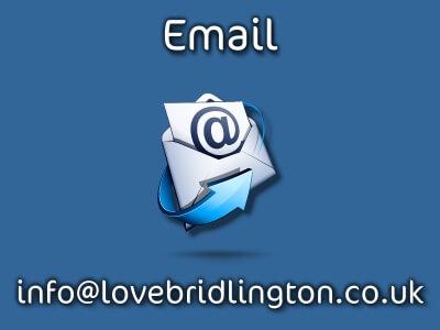 Love Bridlington email button