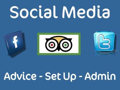 Love Bridlington social media advice set up and admin