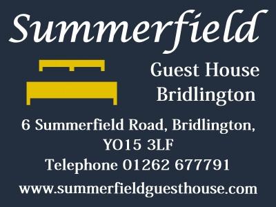 Summerfield Guest House Bridlington Website built by Love Bridlington