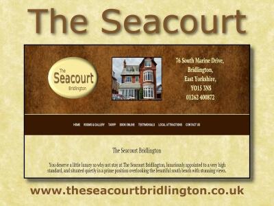 Seacourt Bridlington website created by Love Bridlington