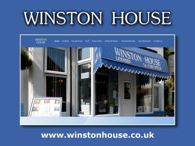 Winston House Bridlington website created by Love Bridlington